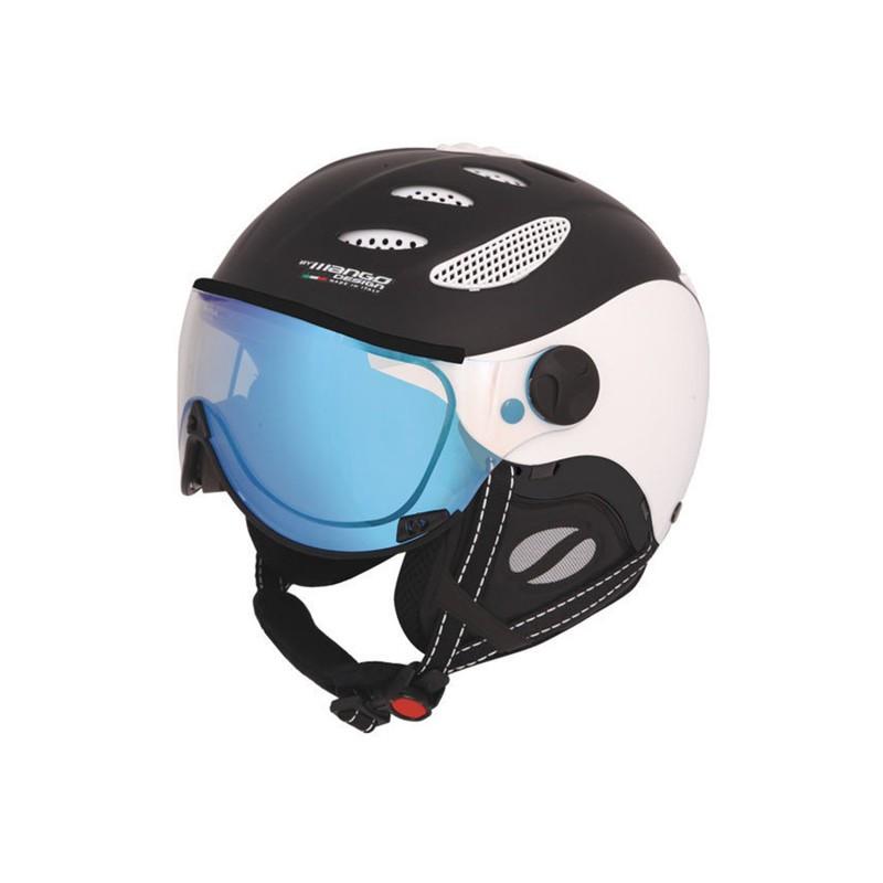 86135ae666 lyžařská snb helma Mango Cusna VIP - černá mat. bílá